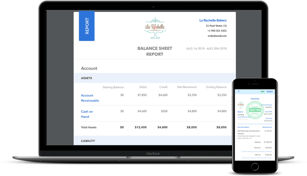 double entry accounting app