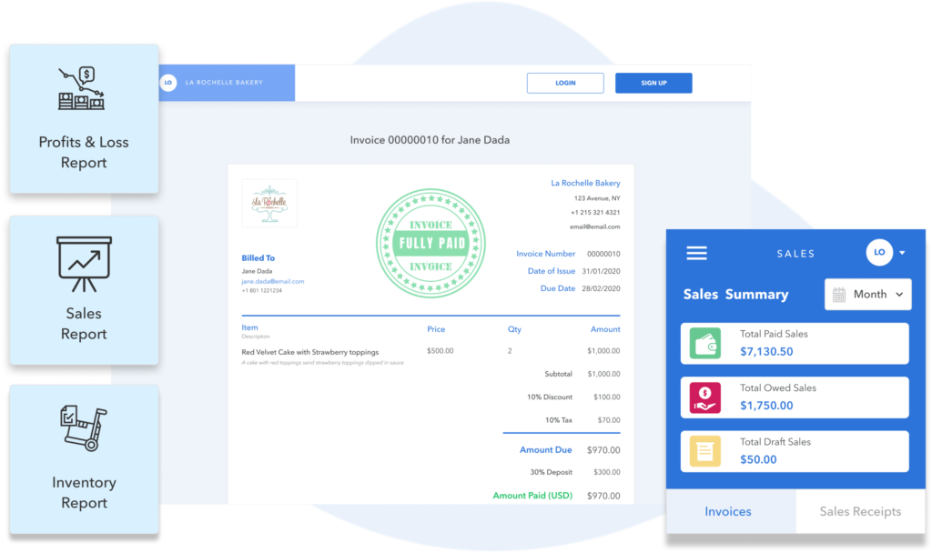 business reports for small business from Vencru